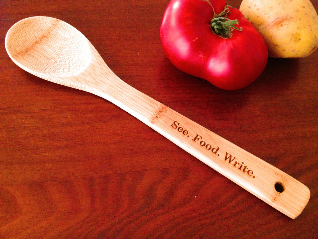 Sponsors at our Supporter or Friend tier during the Winter 2016 Writing Season received our bamboo cooking spoon. Photo © Ben Young Landis.